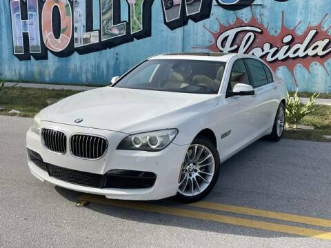 2013 BMW 7 Series for sale at Palermo Motors in Hollywood FL