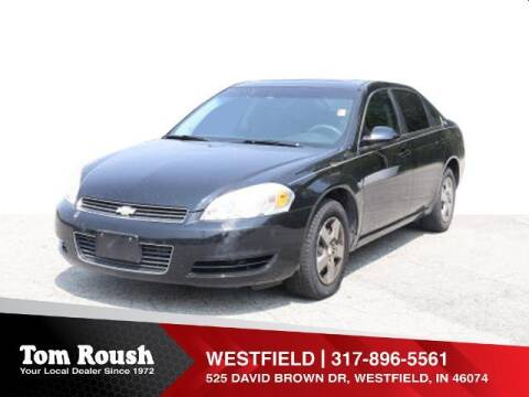 2008 Chevrolet Impala for sale at Tom Roush Budget Westfield in Westfield IN
