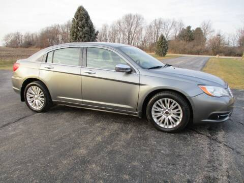 2011 Chrysler 200 for sale at Crossroads Used Cars Inc. in Tremont IL