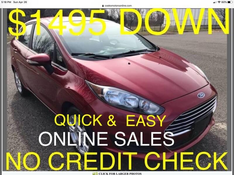 2015 Ford Fiesta for sale at Cooks Motors in Westampton NJ