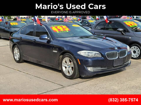 2011 BMW 5 Series for sale at Mario's Used Cars in Houston TX