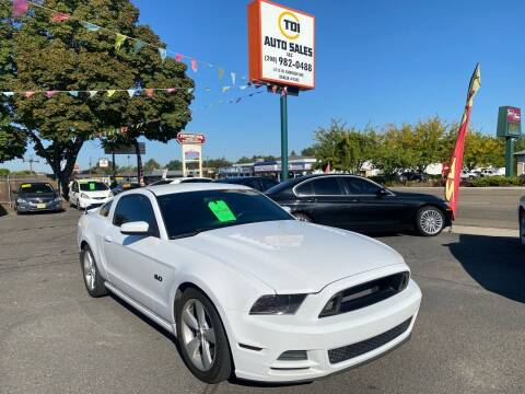 2014 Ford Mustang for sale at TDI AUTO SALES in Boise ID