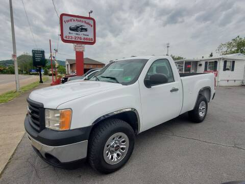 2012 GMC Sierra 1500 for sale at Ford's Auto Sales in Kingsport TN
