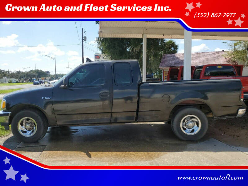 1998 Ford F-150 for sale at Crown Auto and Fleet Services Inc. in Ocala FL