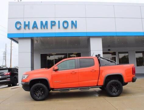 2019 Chevrolet Colorado for sale at Champion Chevrolet in Athens AL