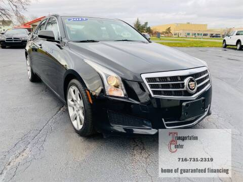 2013 Cadillac ATS for sale at Transportation Center Of Western New York in Niagara Falls NY