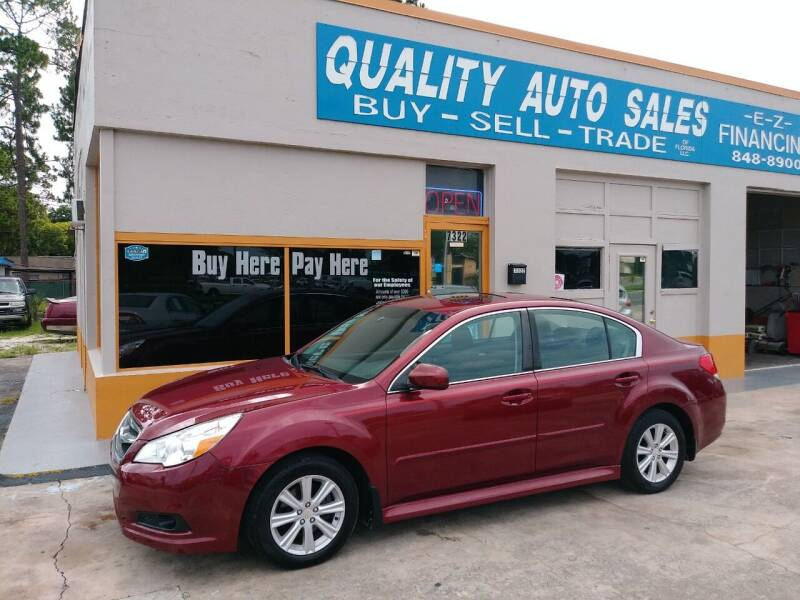 2012 Subaru Legacy for sale at QUALITY AUTO SALES OF FLORIDA in New Port Richey FL