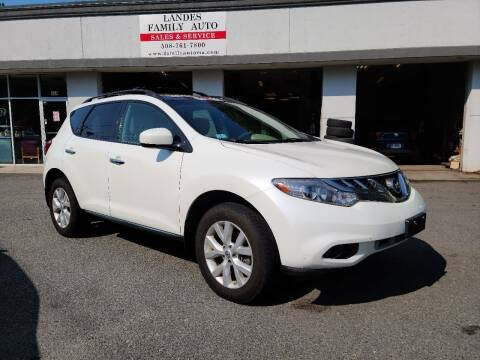 2012 Nissan Murano for sale at Landes Family Auto Sales in Attleboro MA