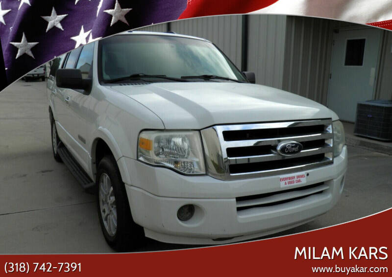 2008 Ford Expedition for sale at MILAM KARS in Bossier City LA