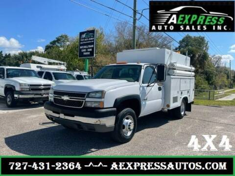 2005 Chevrolet Silverado 3500 for sale at A EXPRESS AUTO SALES INC in Tarpon Springs FL