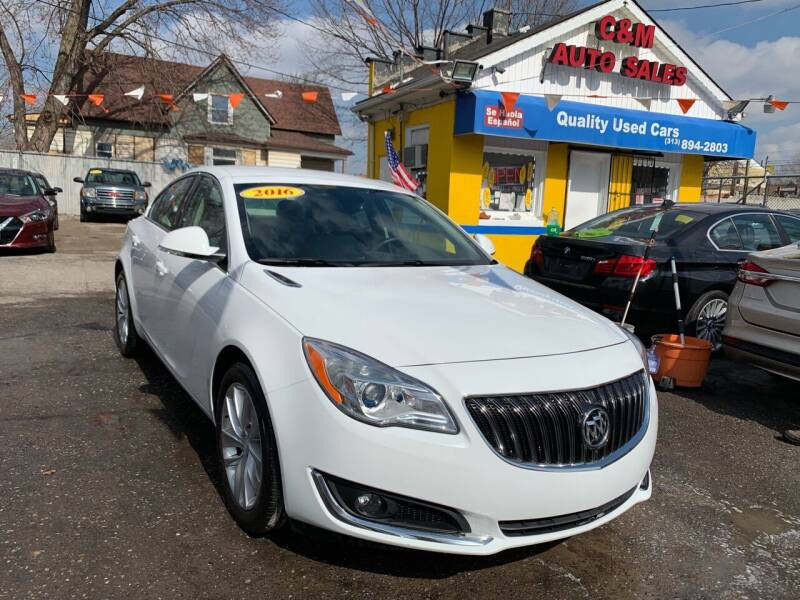 2016 Buick Regal for sale at C & M Auto Sales in Detroit MI