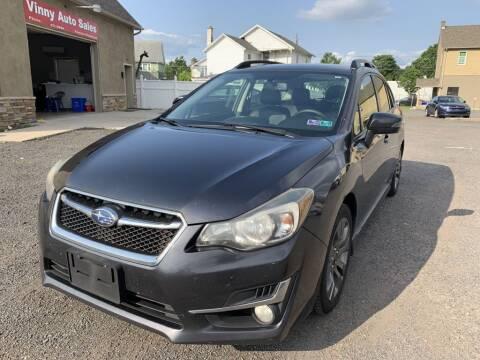2015 Subaru Impreza for sale at VINNY AUTO SALE in Duryea PA
