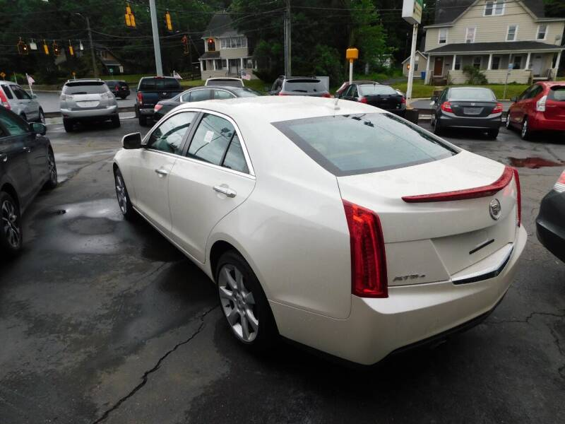 2014 Cadillac ATS for sale at CAR CORNER RETAIL SALES in Manchester CT