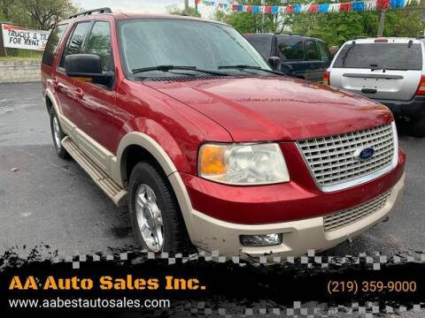 2006 Ford Expedition for sale at AA Auto Sales Inc. in Gary IN