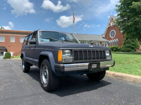 1988 Jeep Cherokee for sale at Automax of Eden in Eden NC