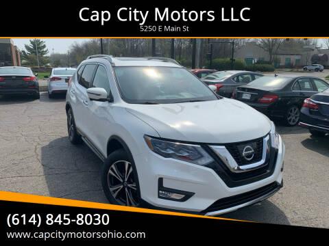 2017 Nissan Rogue for sale at Cap City Motors LLC in Columbus OH
