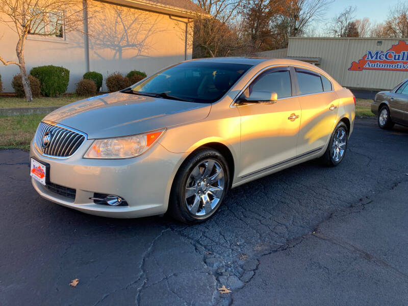 2013 Buick LaCrosse for sale at McCully's Automotive in Benton KY