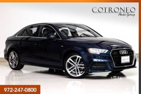 2018 Audi A3 for sale at COTRONEO AUTO GROUP in Addison TX