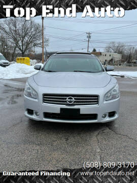 2010 Nissan Maxima for sale at Top End Auto in North Atteboro MA