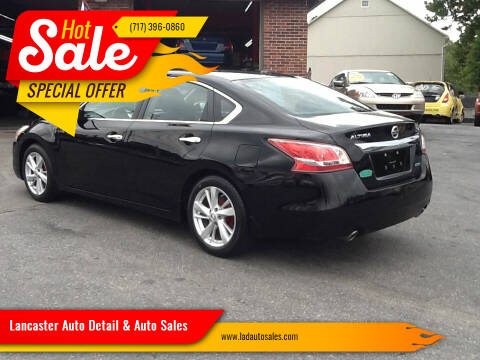 2013 Nissan Altima for sale at Lancaster Auto Detail & Auto Sales in Lancaster PA