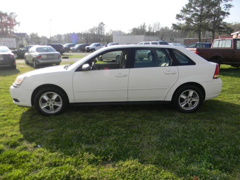 2004 Chevrolet Malibu Maxx for sale at SeaCrest Sales, LLC in Elizabeth City NC