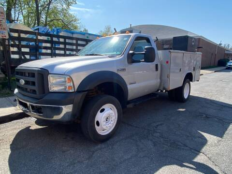 2007 Ford F-450 Super Duty for sale at White River Auto Sales in New Rochelle NY