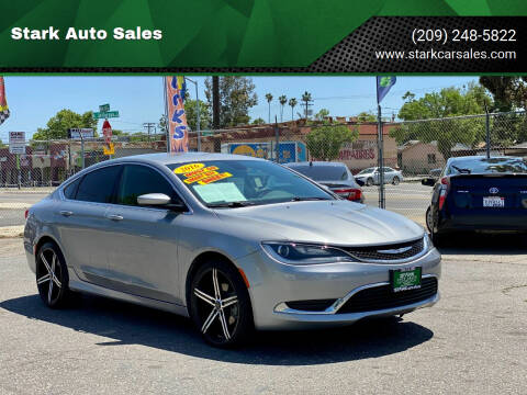 2016 Chrysler 200 for sale at Stark Auto Sales in Modesto CA