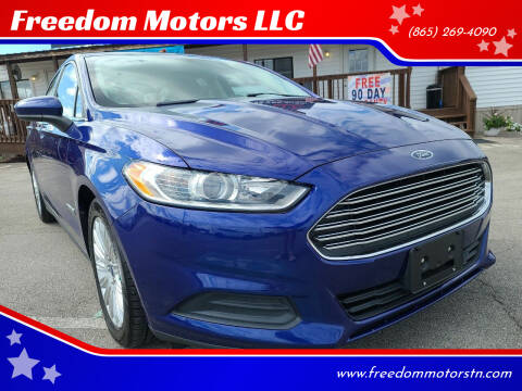 2015 Ford Fusion Hybrid for sale at Freedom Motors LLC in Knoxville TN