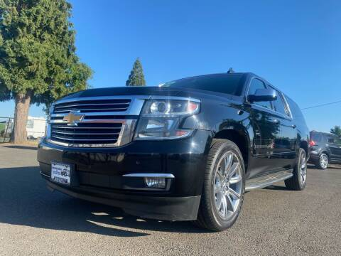2016 Chevrolet Suburban for sale at Pacific Auto LLC in Woodburn OR