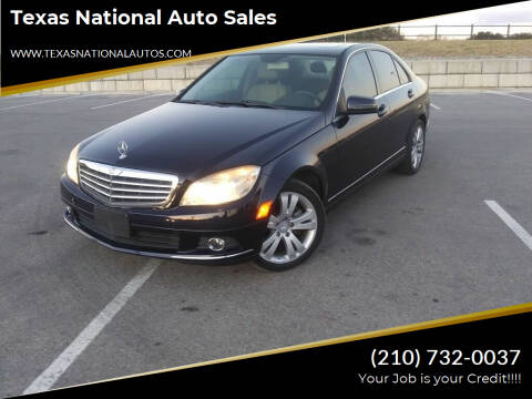 2011 Mercedes-Benz C-Class for sale at Texas National Auto Sales in San Antonio TX