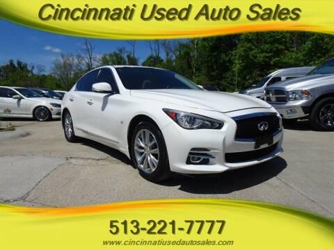 2015 Infiniti Q50 for sale at Cincinnati Used Auto Sales in Cincinnati OH