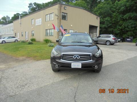2012 Infiniti FX35 for sale at Exclusive Auto Sales & Service in Windham NH