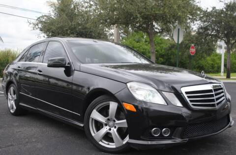 2010 Mercedes-Benz E-Class for sale at Maxicars Auto Sales in West Park FL