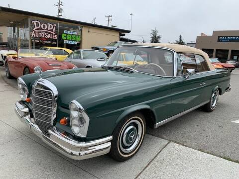 1967 Mercedes-Benz 240-Class for sale at Dodi Auto Sales in Monterey CA