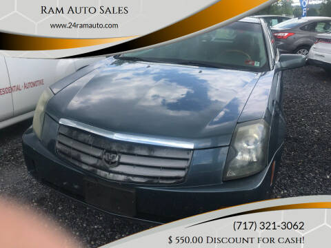 2005 Cadillac CTS for sale at Ram Auto Sales in Gettysburg PA