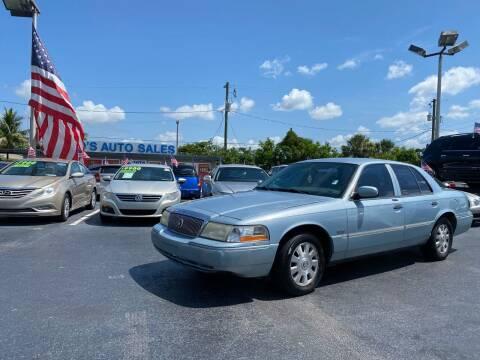 2003 Mercury Grand Marquis for sale at KD's Auto Sales in Pompano Beach FL