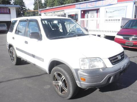 2001 Honda CR-V for sale at 777 Auto Sales and Service in Tacoma WA