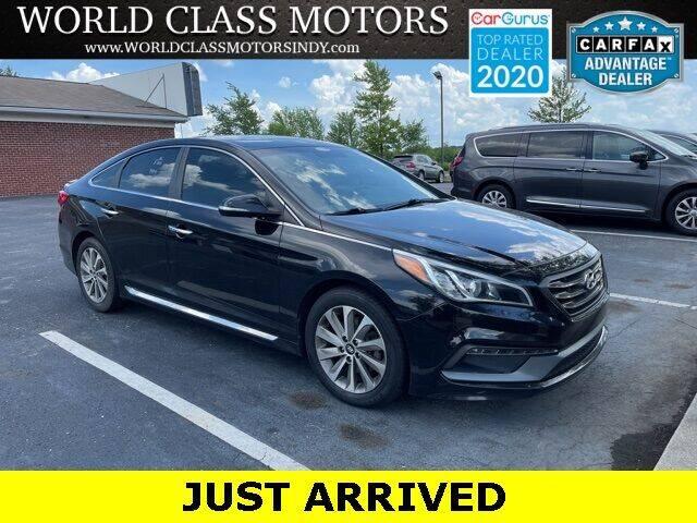 2016 Hyundai Sonata for sale at World Class Motors LLC in Noblesville IN