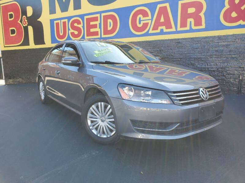 2014 Volkswagen Passat for sale at B & R Motor Sales in Chicago IL