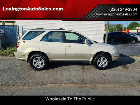 2000 Lexus RX 300 for sale at LexingtonAutoSales.com in Lexington NC