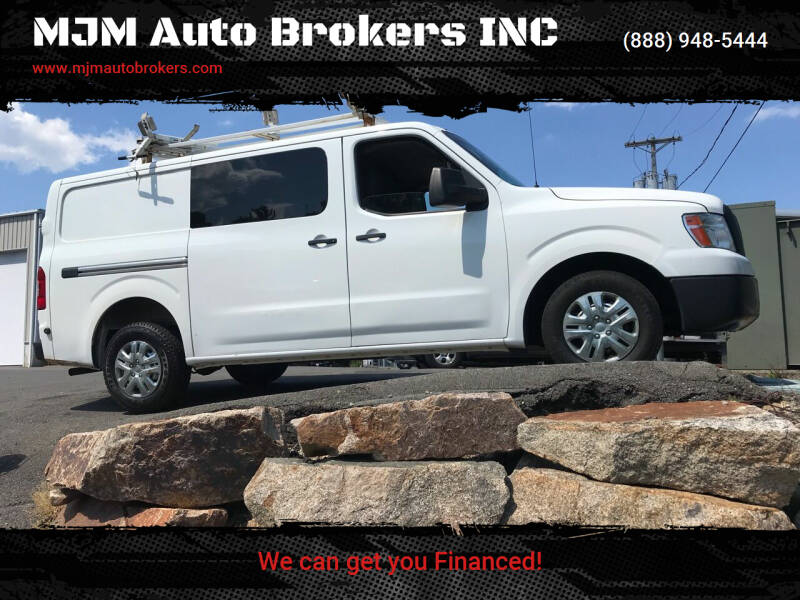 2013 Nissan NV Cargo for sale at MJM Auto Brokers INC in Gloucester MA
