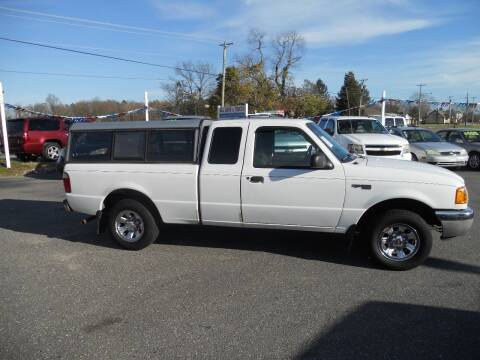 2003 Ford Ranger for sale at All Cars and Trucks in Buena NJ