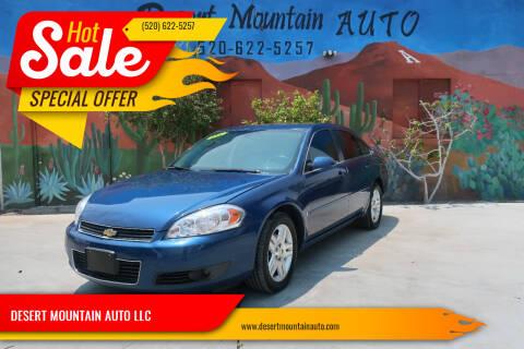 2006 Chevrolet Impala for sale at DESERT MOUNTAIN AUTO LLC in Tucson AZ