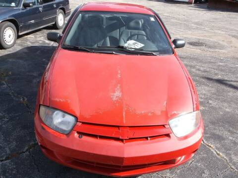 2005 Chevrolet Cavalier for sale at M & N CARRAL in Osceola IN