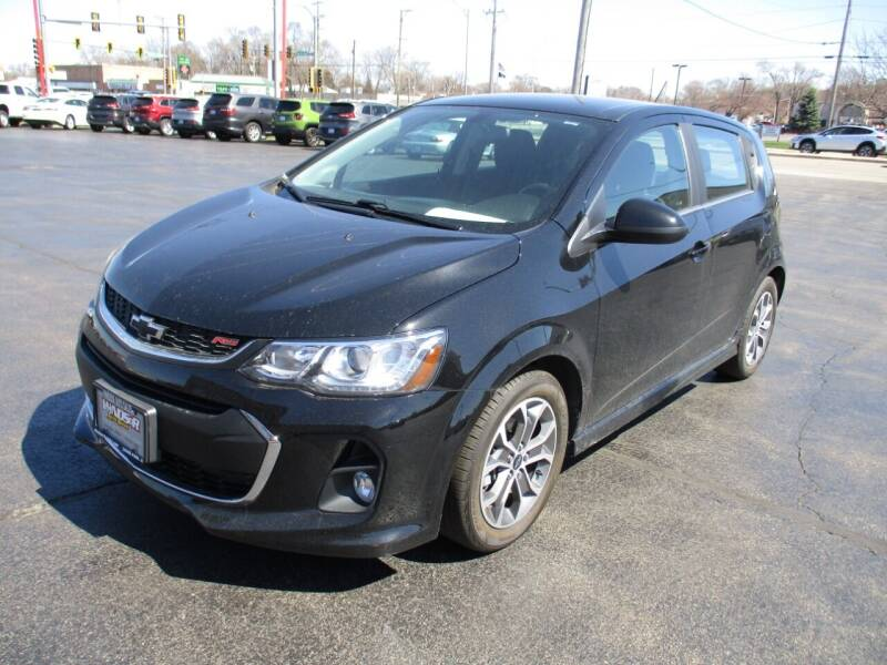2019 Chevrolet Sonic for sale at Windsor Auto Sales in Loves Park IL