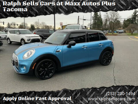 2015 MINI Hardtop 4 Door for sale at Ralph Sells Cars at Maxx Autos Plus Tacoma in Tacoma WA
