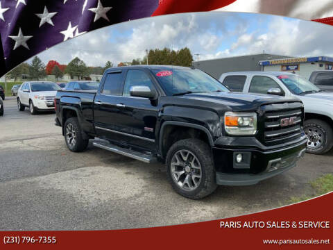 2014 GMC Sierra 1500 for sale at Paris Auto Sales & Service in Big Rapids MI
