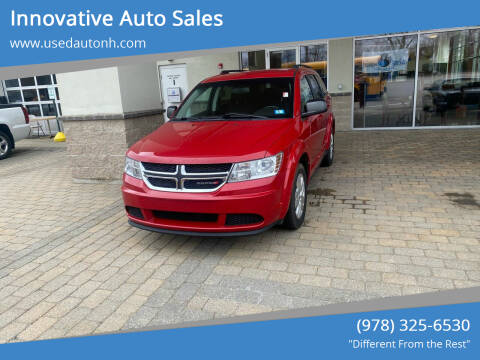 2015 Dodge Journey for sale at Innovative Auto Sales in North Hampton NH