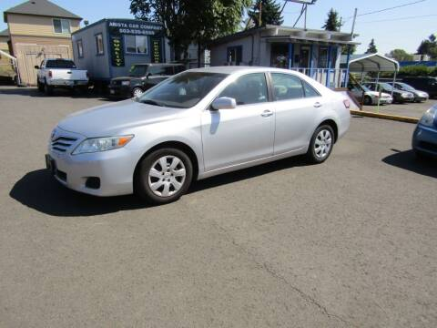 2010 Toyota Camry for sale at ARISTA CAR COMPANY LLC in Portland OR
