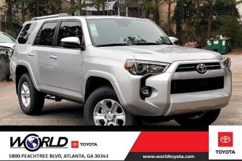 2021 Toyota 4Runner for sale at CU Carfinders in Norcross GA